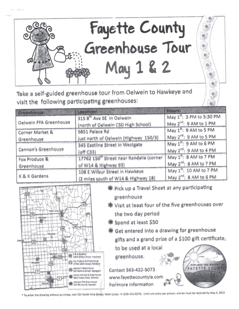 Fayette Co. Greenhouse Tour #1