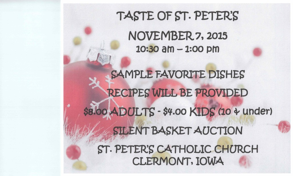 Taste of St. Peter